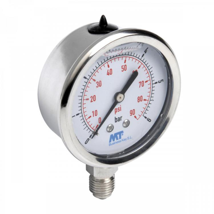 Glycerine Filled pressure gauge